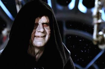 L'Imperatore Palpatine nella trilogia originale di Star Wars