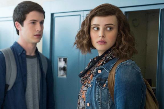 Tredici: Hannah Baker e Clay a scuola