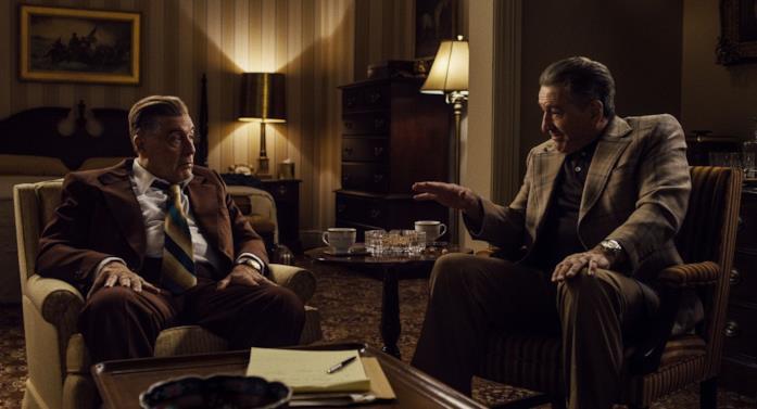 De Niro e Al Pacino in The Irishman