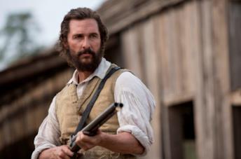 Un primo piano di Matthew McConaughey nel film Free State of Jones