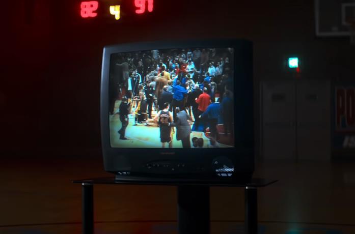Un scena della docuserie Netflix Untold