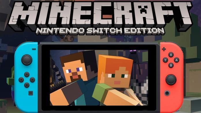 Minecraft su Nintendo Switch