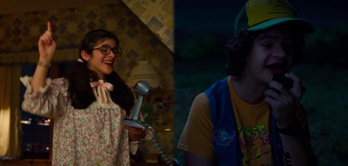 Suzie e Dustin cantano la canzone de La storia infinita