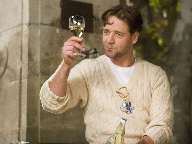 Max beve vino in Un'ottima annata