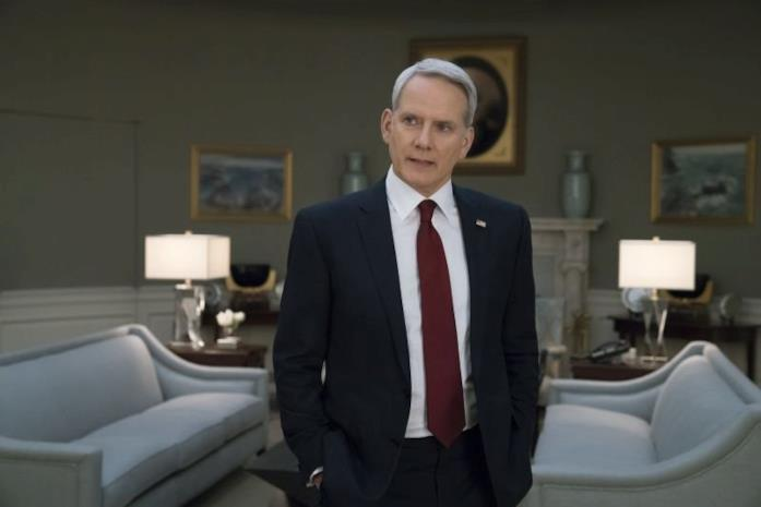 Campbell Scott nella sesta stagione di House of Cards