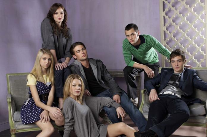 Il cast di protagonisti di Gossip Girl
