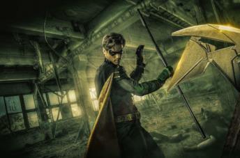 Dick Grayson nei panni di Robin