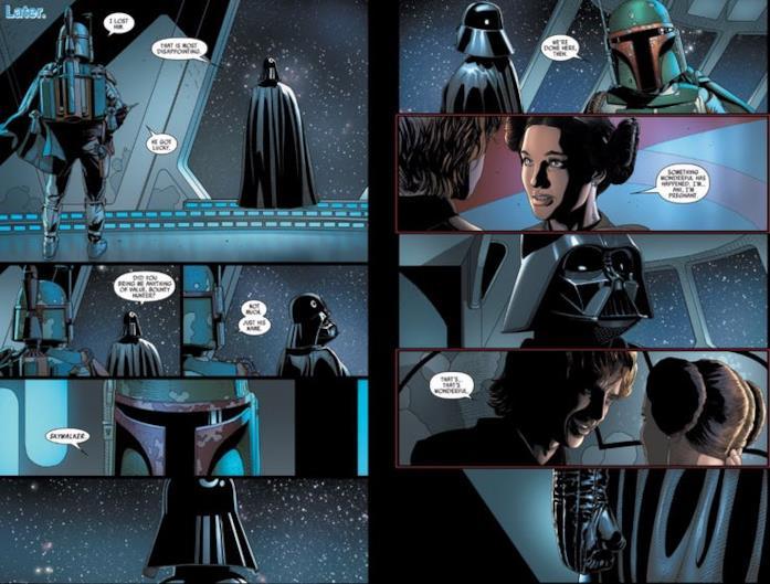 Immagine di Darth Vader e Boba Fett
