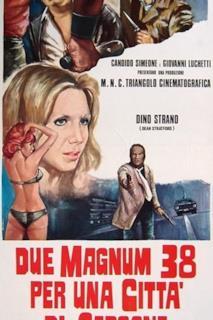 Poster Due Magnum .38 per una città di carogne