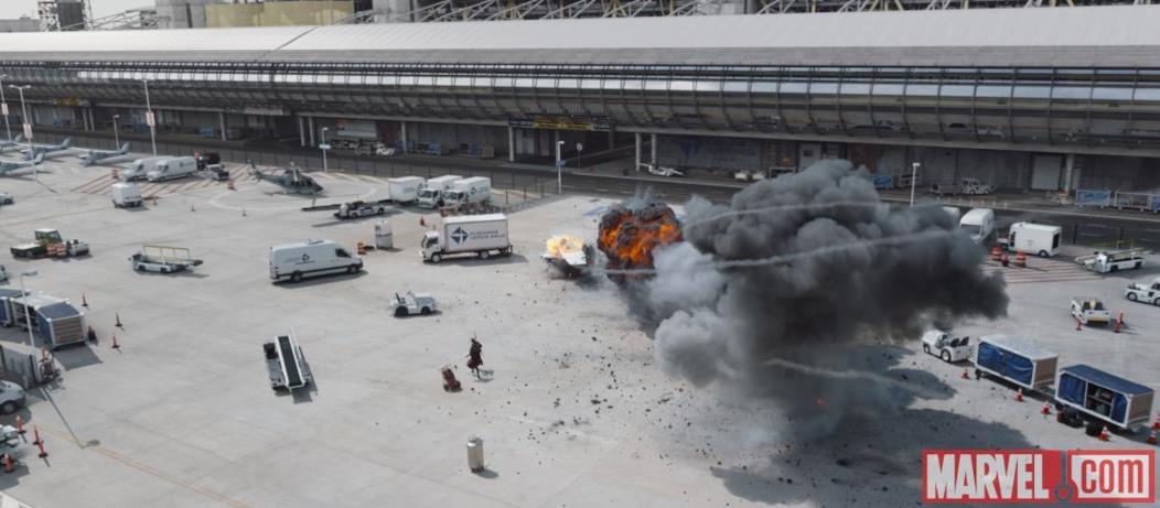 Esplosione in Capitan America: Civil War