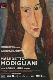Poster Maledetto Modigliani