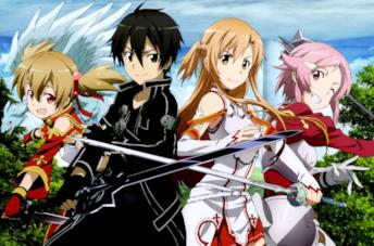Sword Art Online personaggi