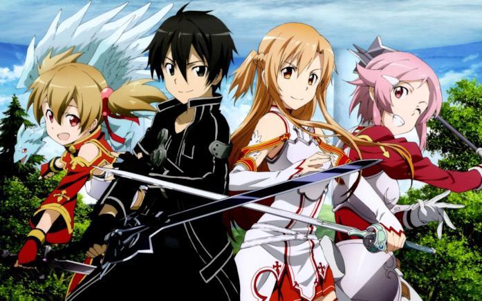 Sword Art Online personaggi