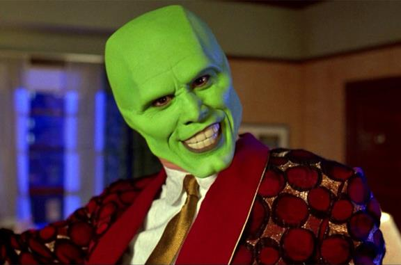 Jim Carrey in The Mask