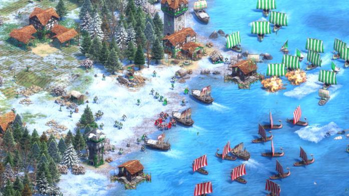 Uno screenshot di Age of Empires II