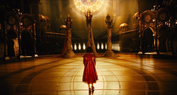 Ofelia viene accolta nel regno sotterraneo
