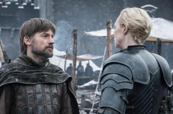 Nikolaj Coster-Waldau e Gwendoline Christie sono Jaime Lannister e Brienne di Tarth