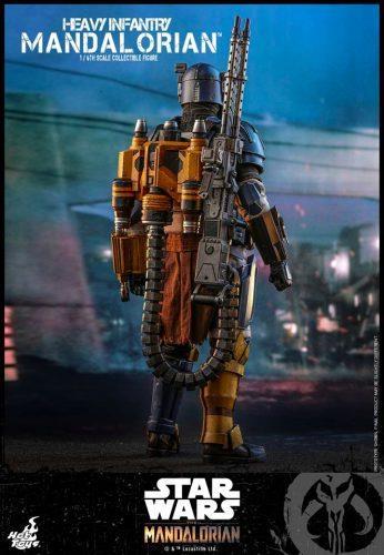 Heavy Infantry Mandalorian, la nuova action figure - retro