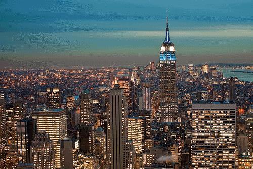 New York in GIF