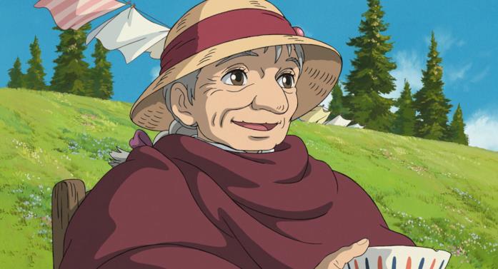 La vecchia protagonista del film