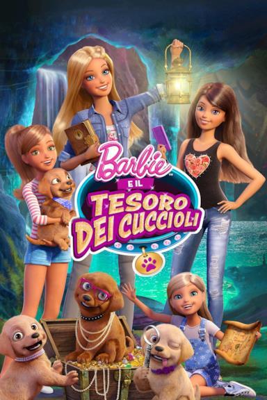 Poster Barbie e il tesoro dei cuccioli