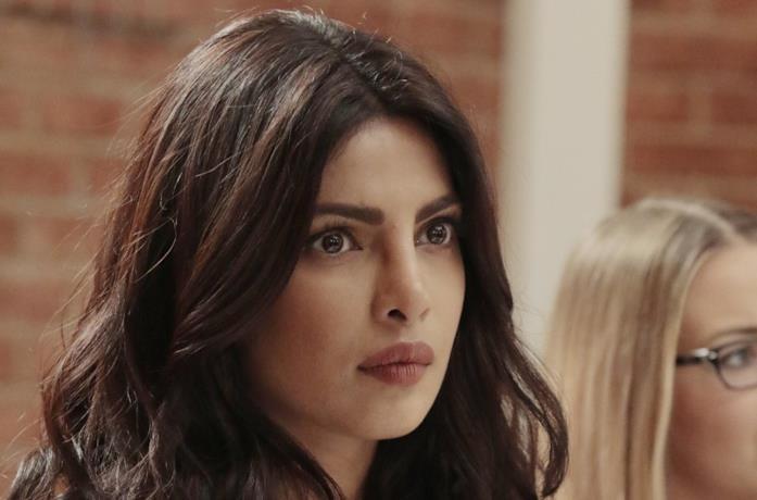 Priyanka Chopra in una scena della serie Quantico