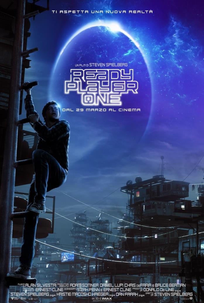 Ready Player One al cinema il 29 marzo 2018