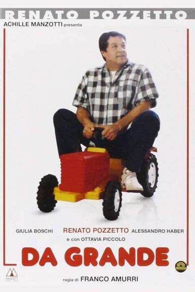 Poster Da grande