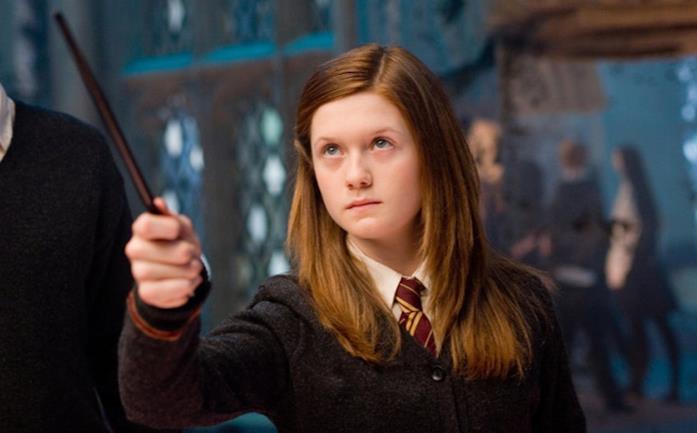 Ginny Weasley in Harry Potter