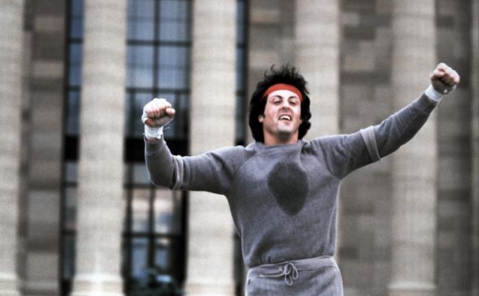 Sylvester Stallone in una scena del film