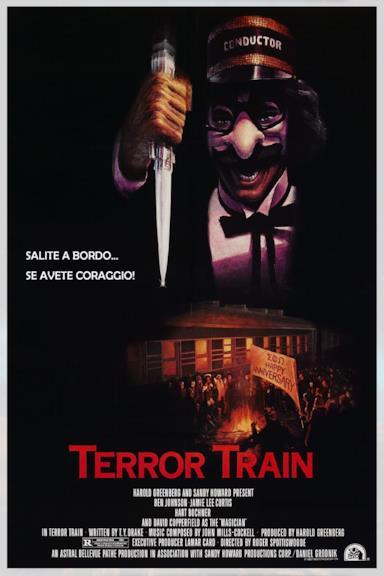 Poster Terror train