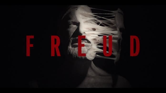 La testa di Freud nella sigla dell'episodio 5 è divisa in due parti, tenute insieme da una sostanza bianca e filamentosa che sembra colla