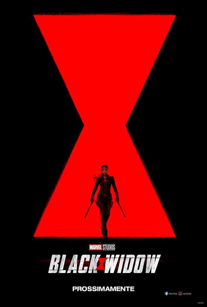 Il poster ufficiale di Black Widow
