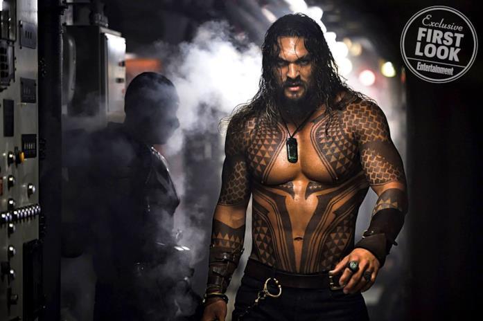 Aquaman: la prima still ufficiale dal film con Jason Momoa