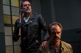 Negan e la sua Lucille in The Walking Dead