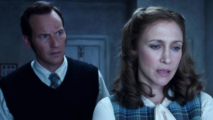 Patrik Wilson e Vera Farmiga interpretano Ed e Lorraine Warren