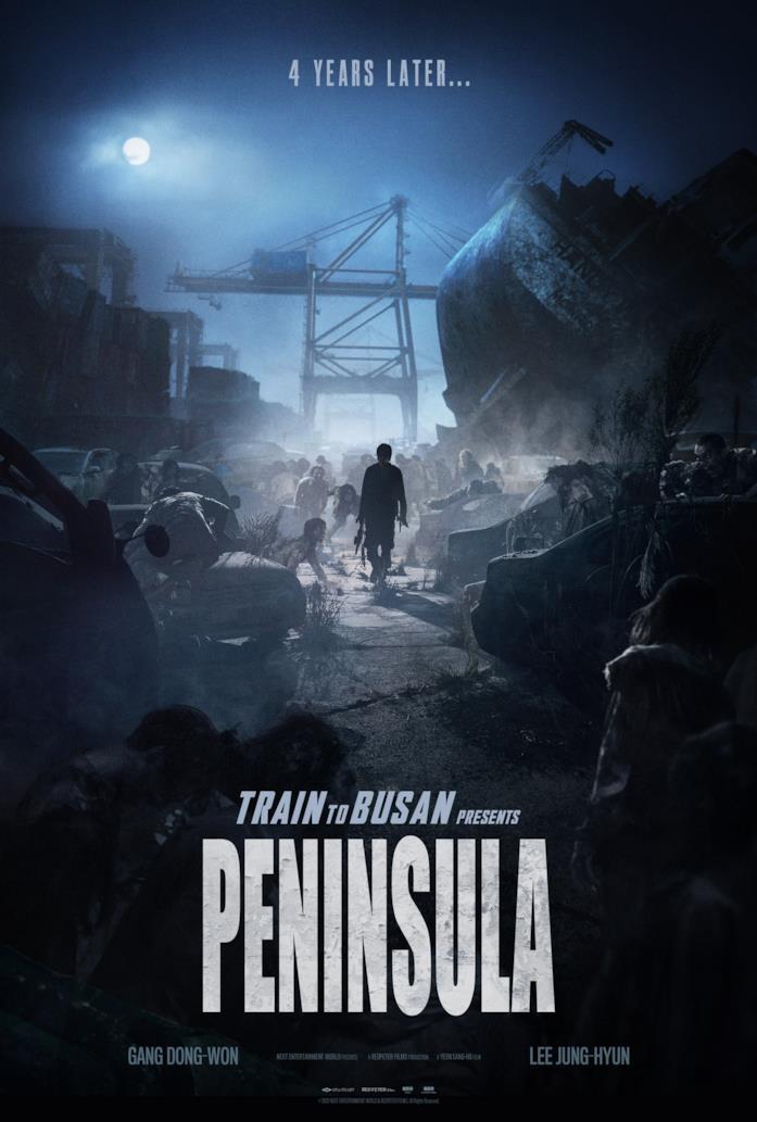 Il poster del film Train to Busan Presents: Peninsula