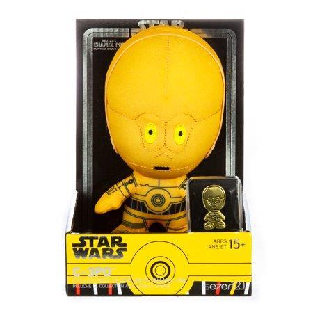 C-3PO - Set di peluche e spille