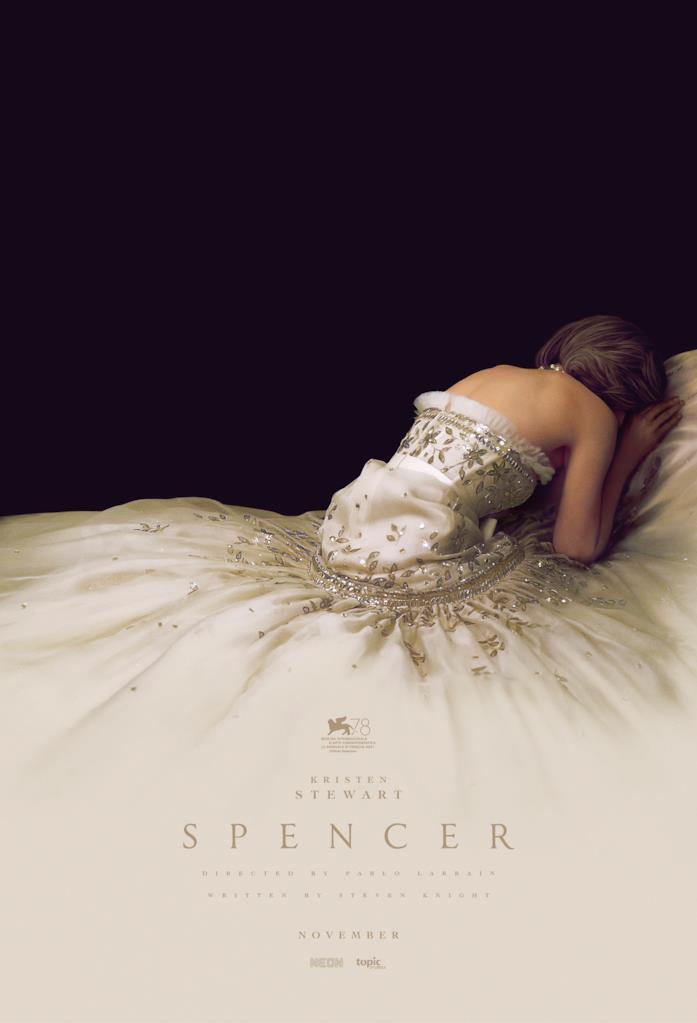 Kristen Stewart nel poster di Spencer