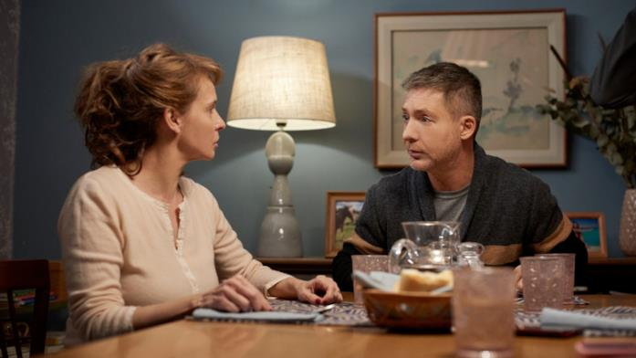 Gabriela Toscano e Adrián Suar in una scena di Corazón Loco