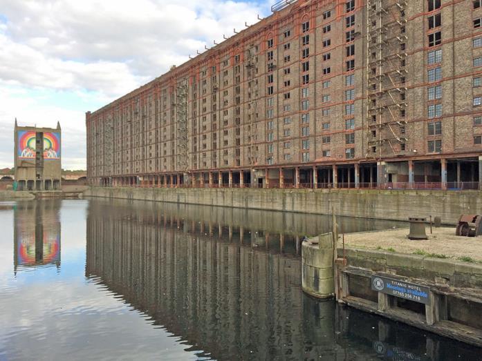 Stanley Dock, location del film a Liverpool