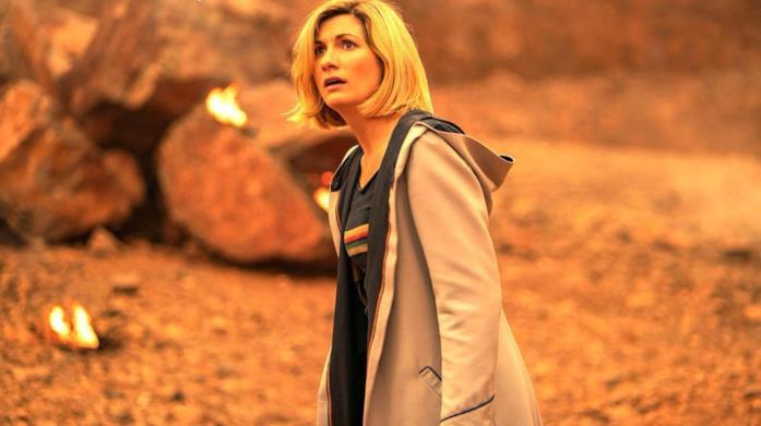 Jodie Whittaker nei panni del Dottore