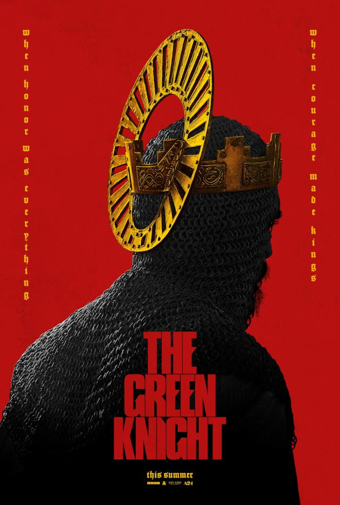Il poster del film The Green Knight