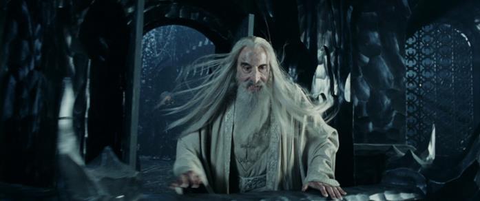 Le due torri: Saruman