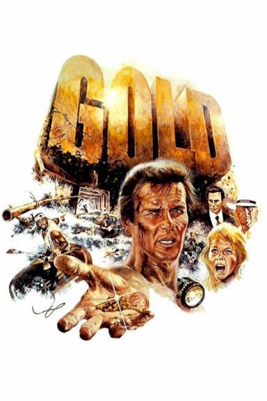 Poster Gold - il segno del potere