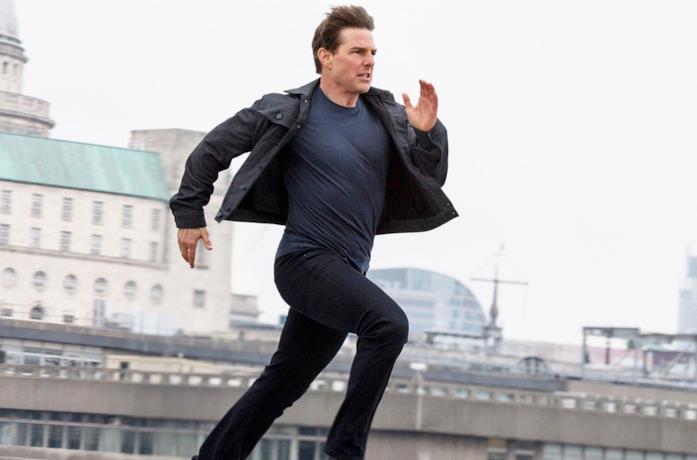 Tom Cruise corre