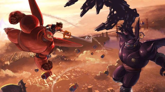 Big Hero 6 videogame Kingdom Hearts