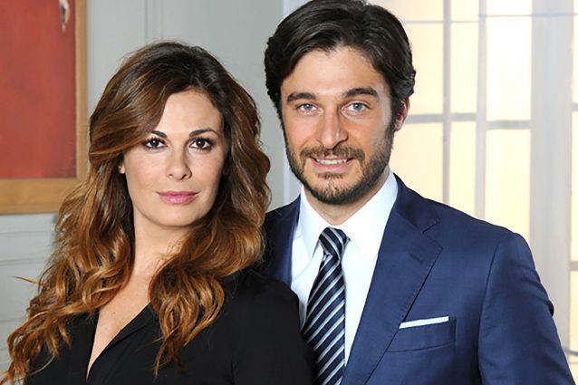 Lino Guanciale con Vanessa Incontrada in Non dirlo al mio capo