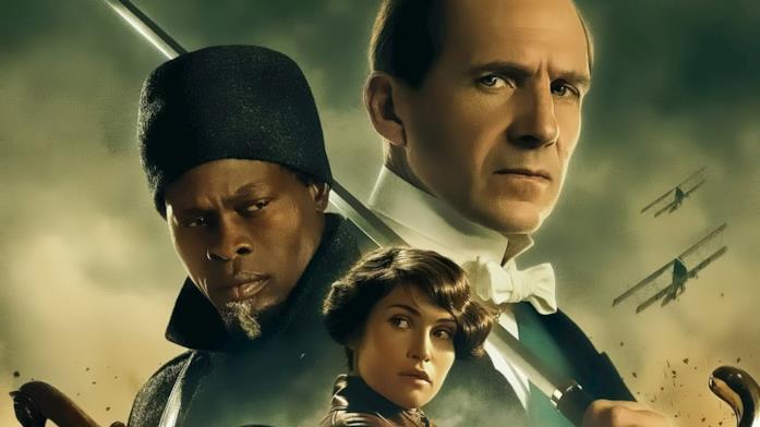 Il Duca di Oxford, insieme ad altri personaggi, con alle spalle la Guerra