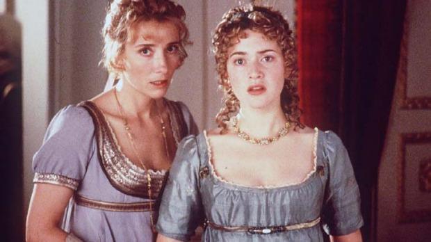 Le sorelle Elinor e Marianne in una scena di Ragione e sentimento